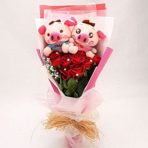 Piggy Soft Toys Bouquet