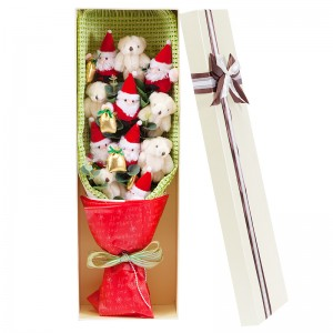 Santa Claus & Teddy Bear Gift Bouquet