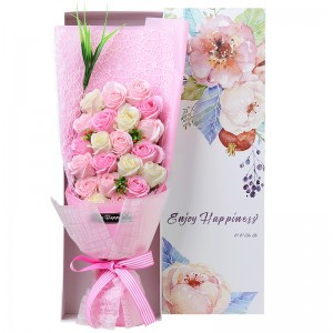 Tender Rose Soap Flower Bouquet. Big Size