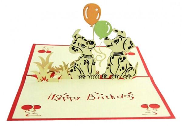 Buy 3d Happy Birthday Gift Card For Kids Online In Dubai