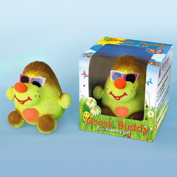 """Grass Head """"Mole"""" in Packaging"""