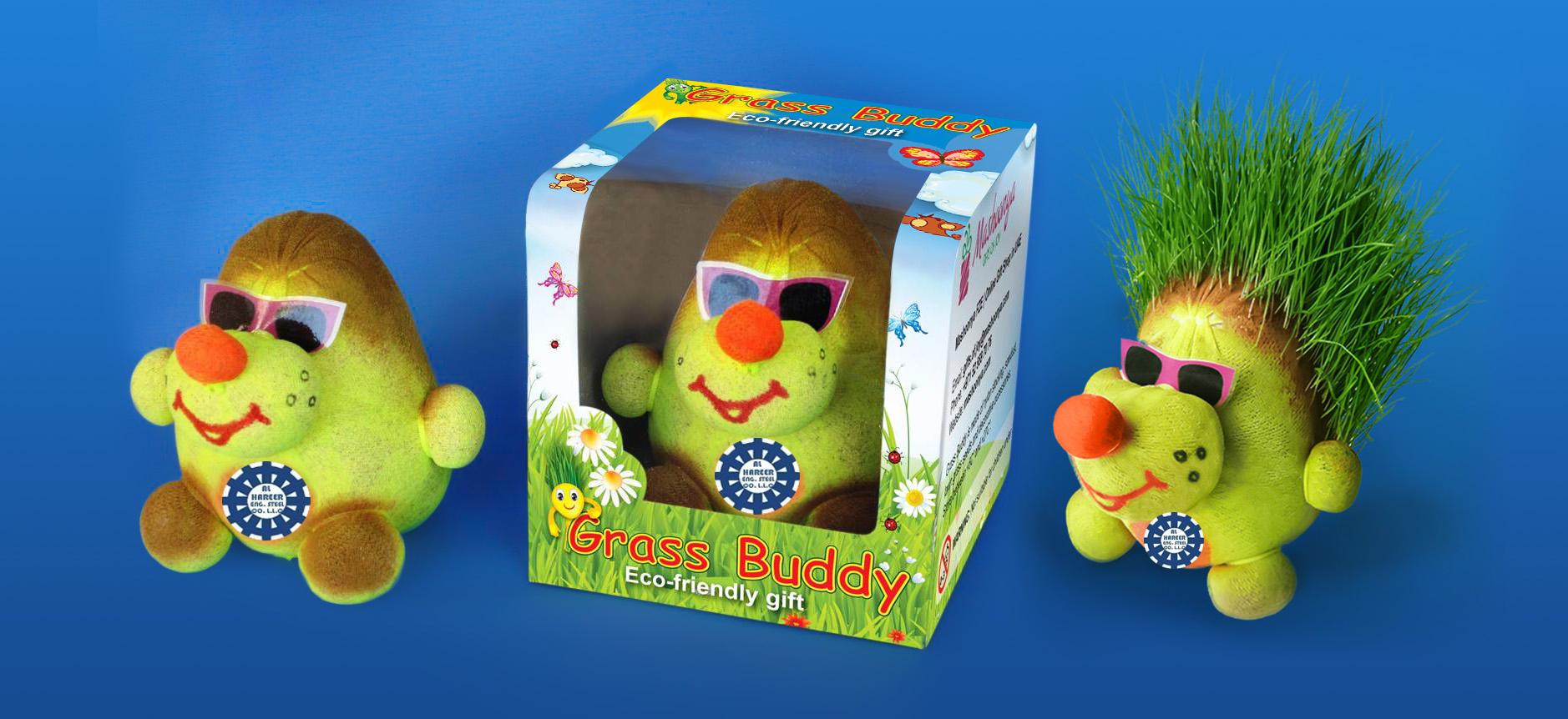 Grass Head - Unique Corporate Gifts